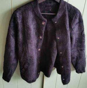 Button up Sweater jacket / coat